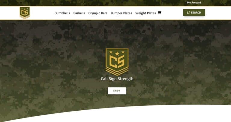 Call Sign Strength Web Design