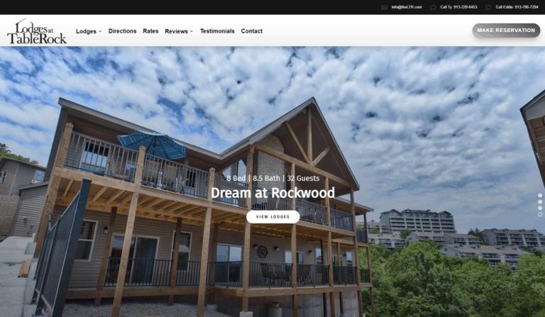 Lodges at Tablerock Website