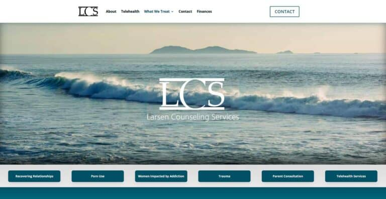 Larsen Counseling Services - Counseling Web Design